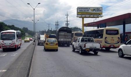 Buses de otros municipios no podrán circular por la Autopista Norte