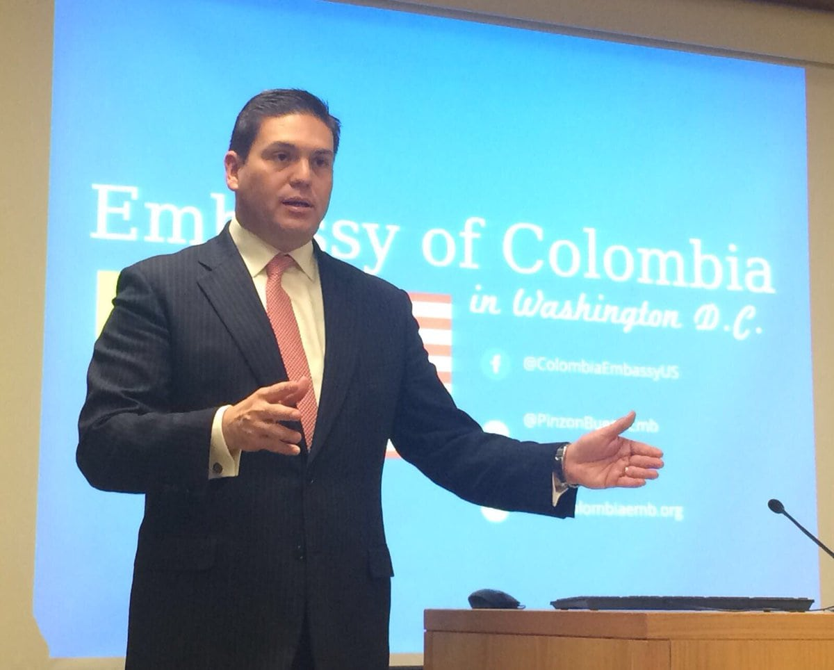embajador de Colombia