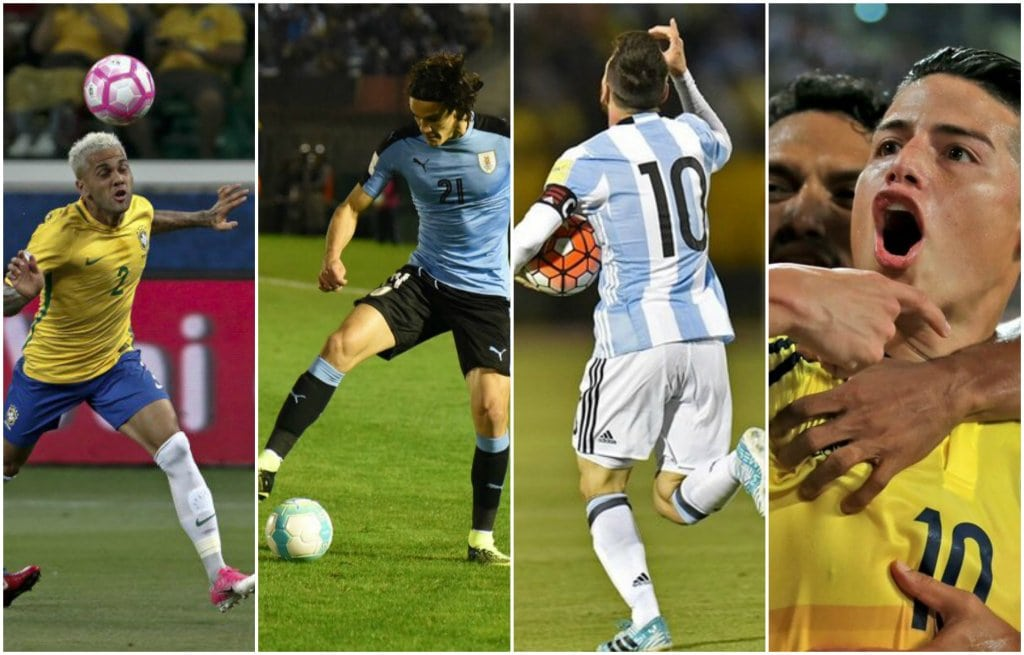 selecciones suramericanas