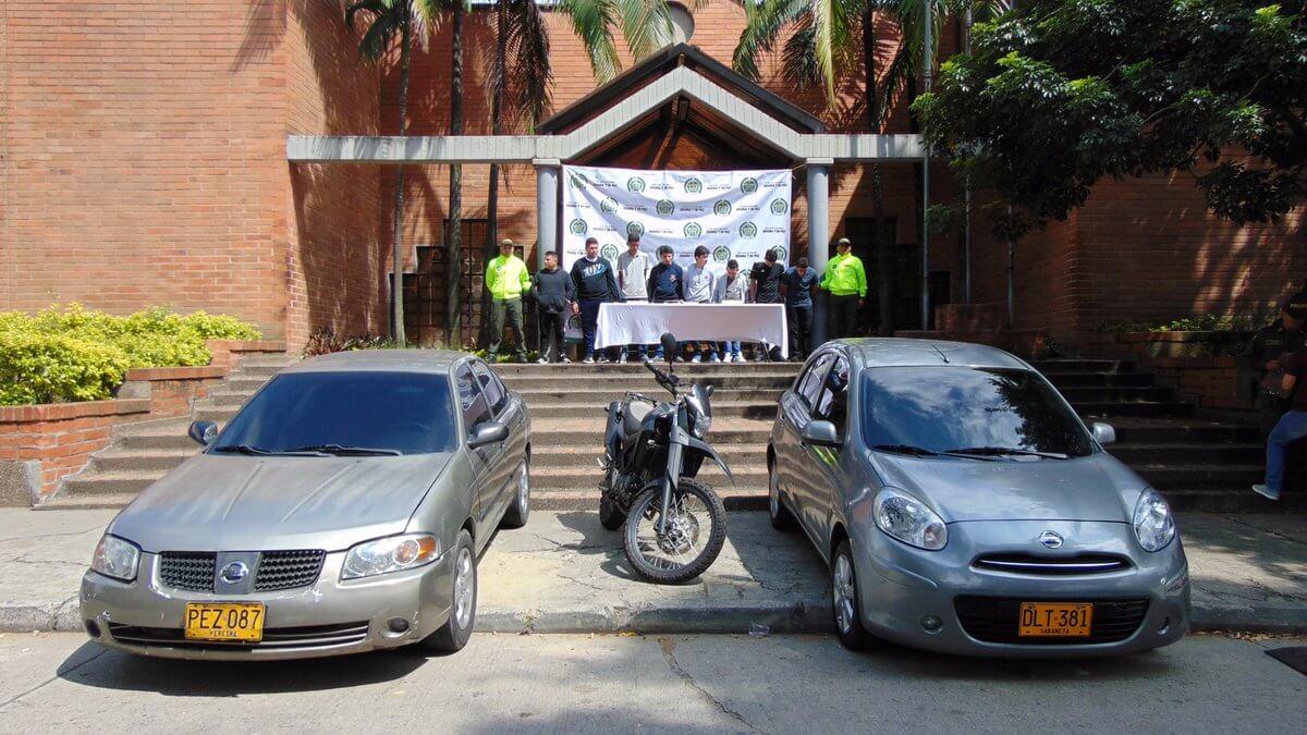 Policía capturó a 8 presuntos integrantes de labanda delincuencial La Viña