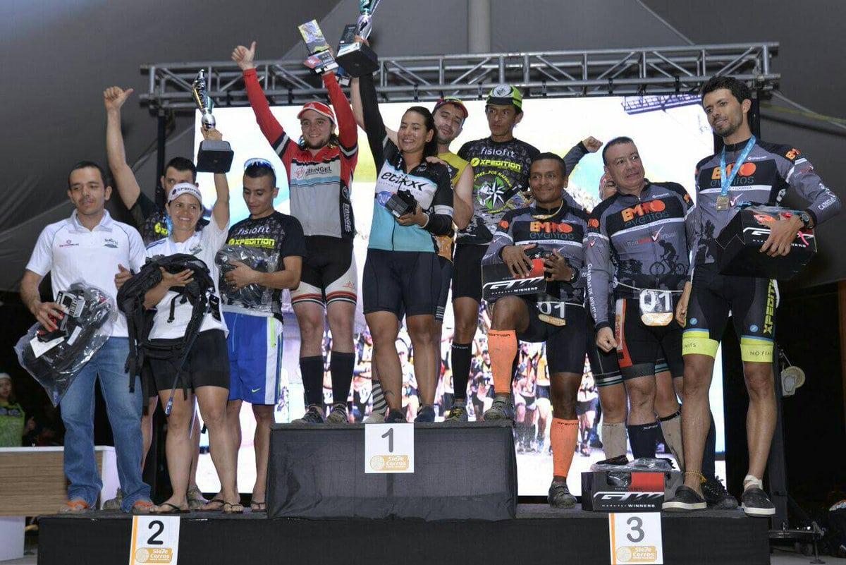 Finalizó la competencia 7 Cerros Inder Medellín 2017
