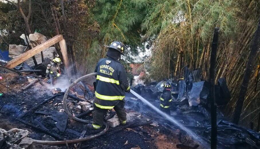 El balance que dejó el incendio registrado en el barrio Villatina