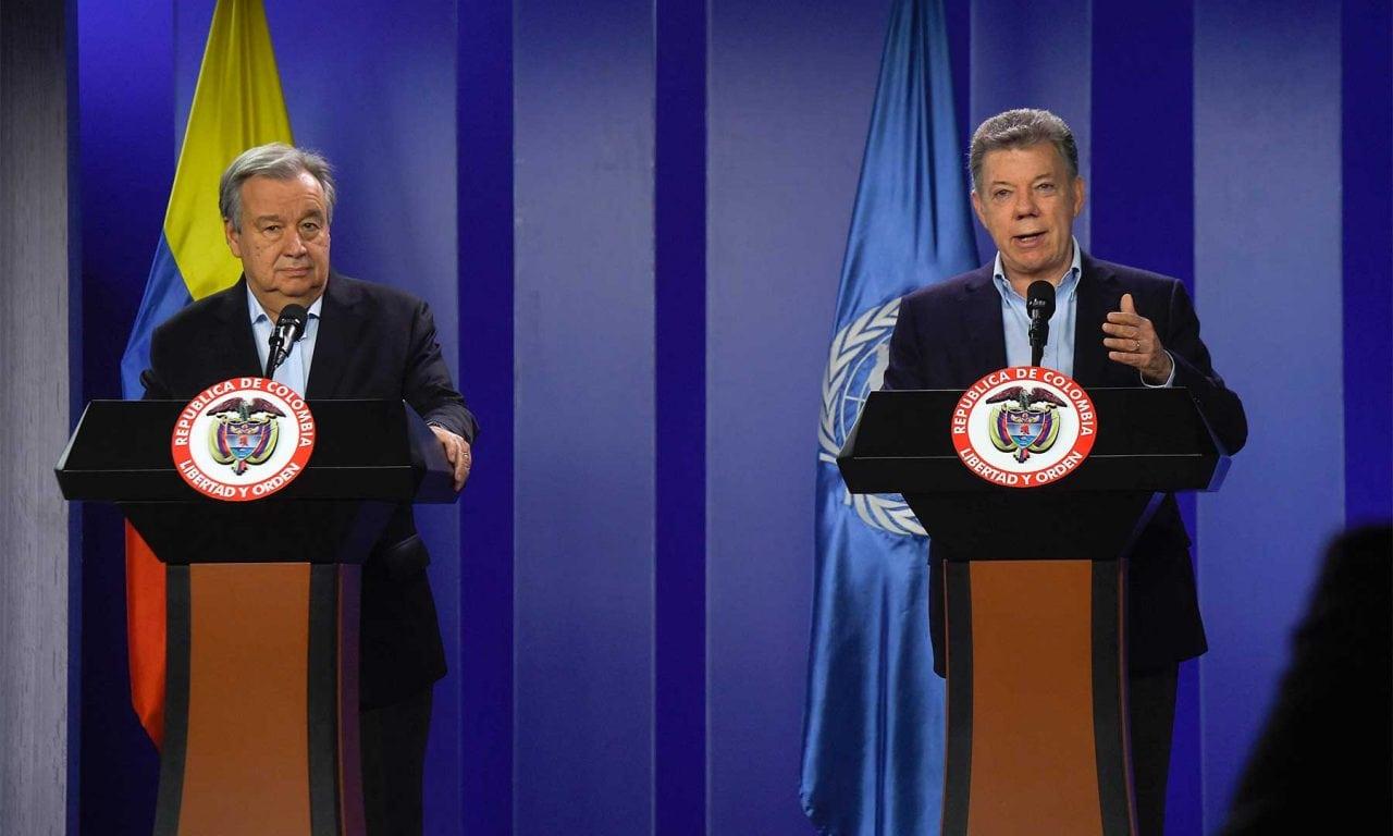 ONU ratificó su compromiso en la construcción de la paz en Colombia