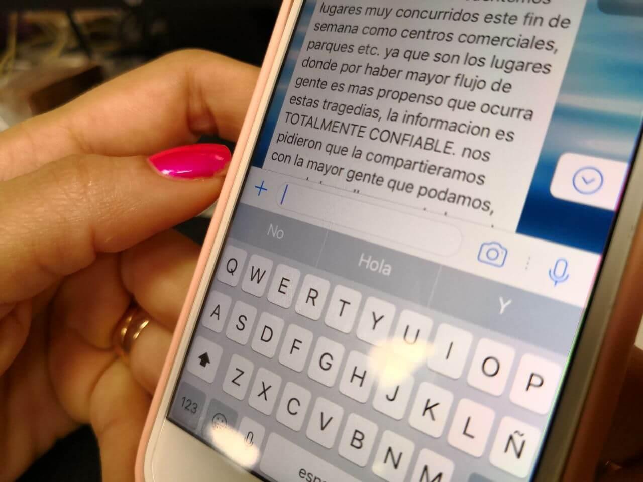 Desmienten cadena de WhatsApp que advierte sobre supuesto atentado en Medellín