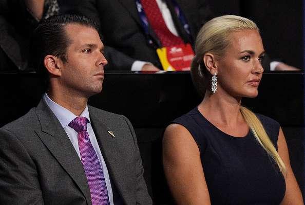 Hospitalizan a la esposa de Donald Trump Jr. tras abrir paquete sospechoso
