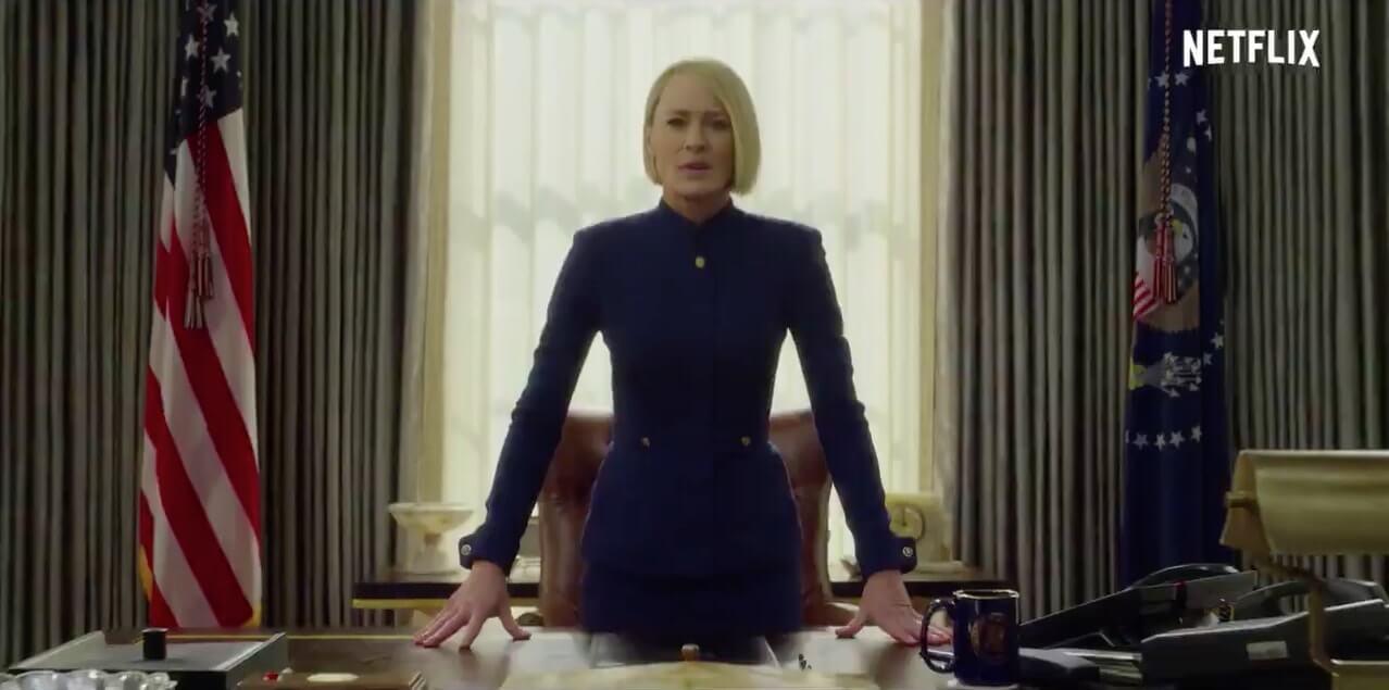 House of Cards presentó el primer adelanto de la última temporada