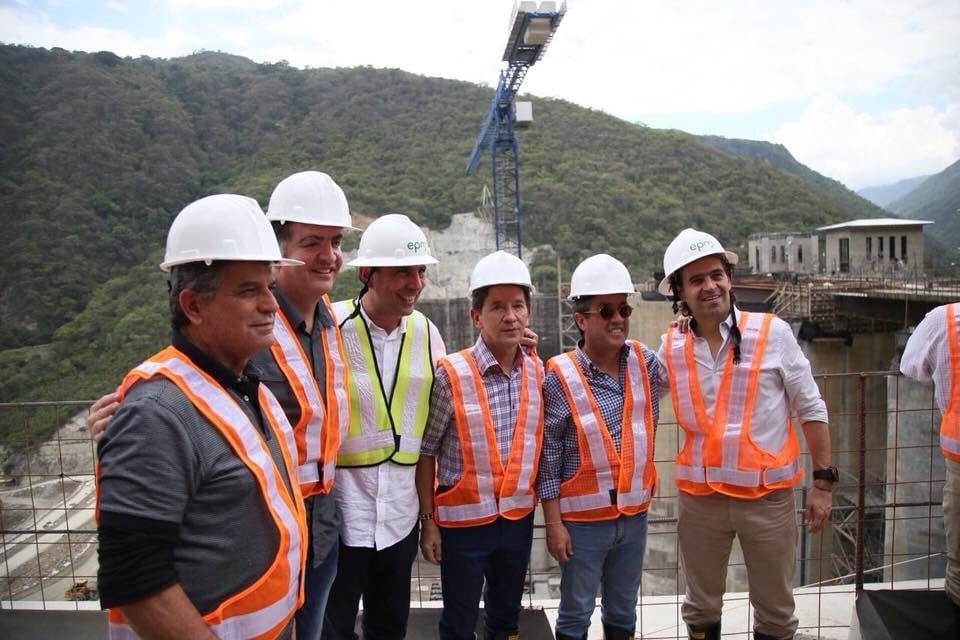 Presidente del BID destacó avances de Hidroituango