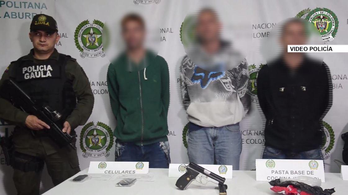 """Cuatro integrantes del grupo delincuencial """"Los Juaquinillos"""" fueron capturados"""