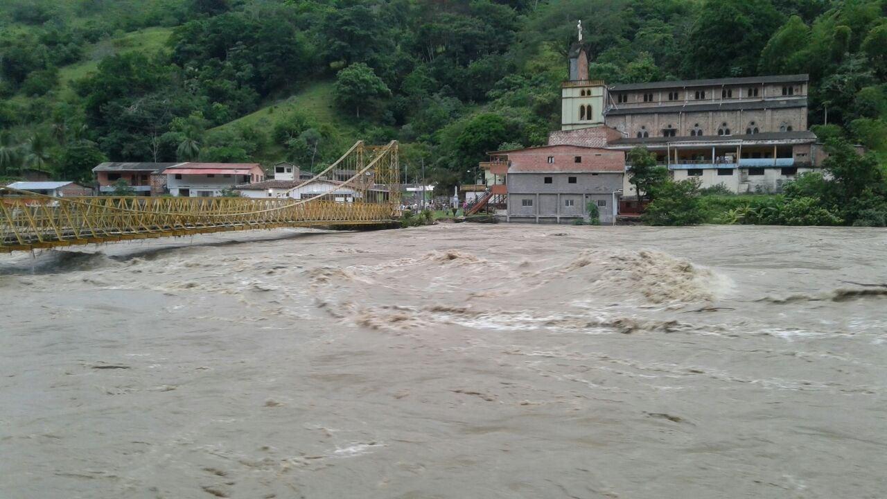Alerta para las comunidades ubicadas aguas abajo del proyecto Hidroituango