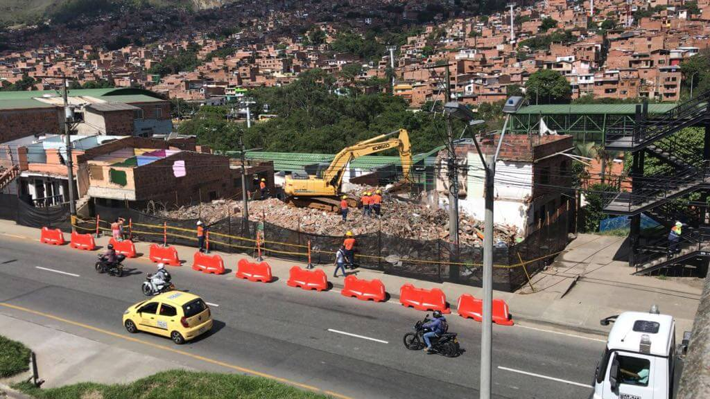Obras del Metrocable Picacho avanzan en un 20 %