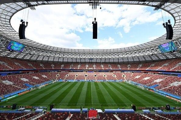 Así es el estadio donde se inaugurará el Mundial de Rusia 2018