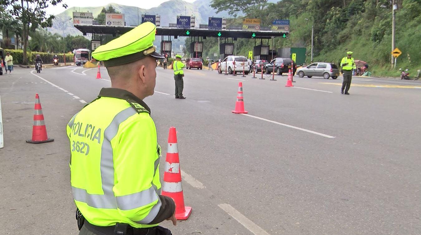 Más de 600 uniformados estarán encargados de la seguridad este puente festivo