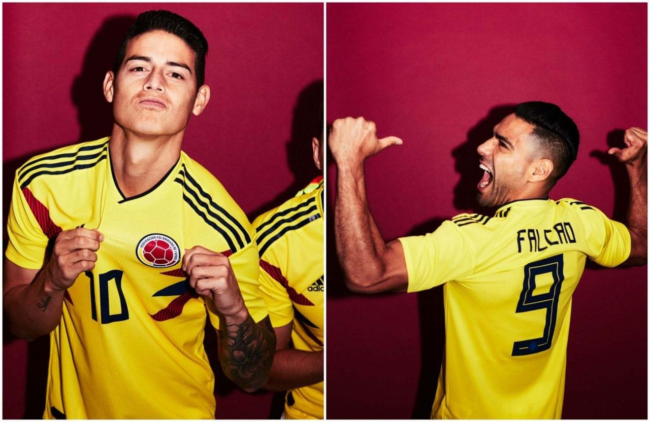 Selección Colombia posó para la foto oficial del Mundial de Rusia