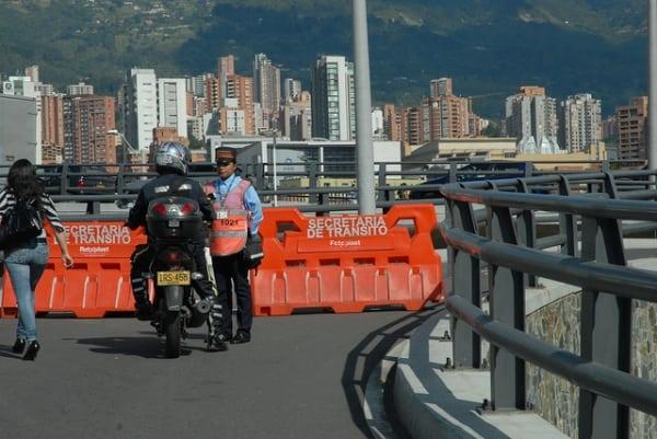 El domingo 16 de septiembre habrá cierres en Medellín, Envigado y Sabaneta