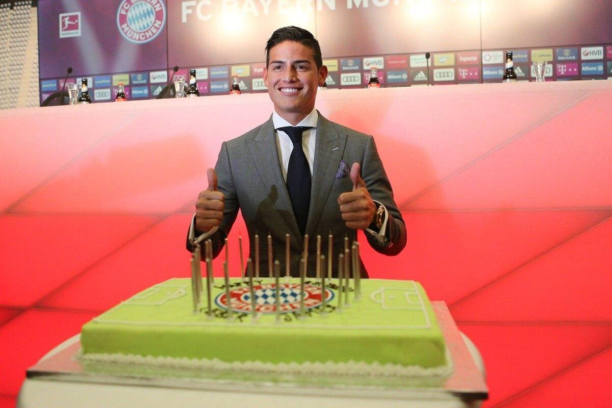 Los mensajes para James Rodríguez en el día de su cumpleaños
