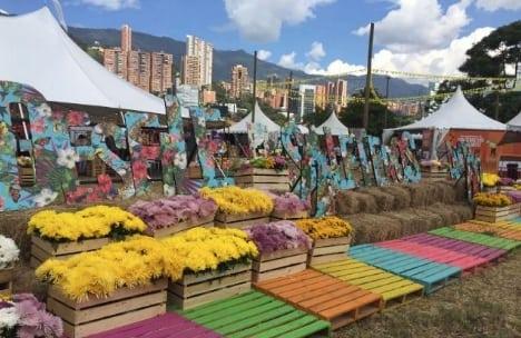 Horarios y lugares de la Plaza de las Flores, durante la Feria de las Flores