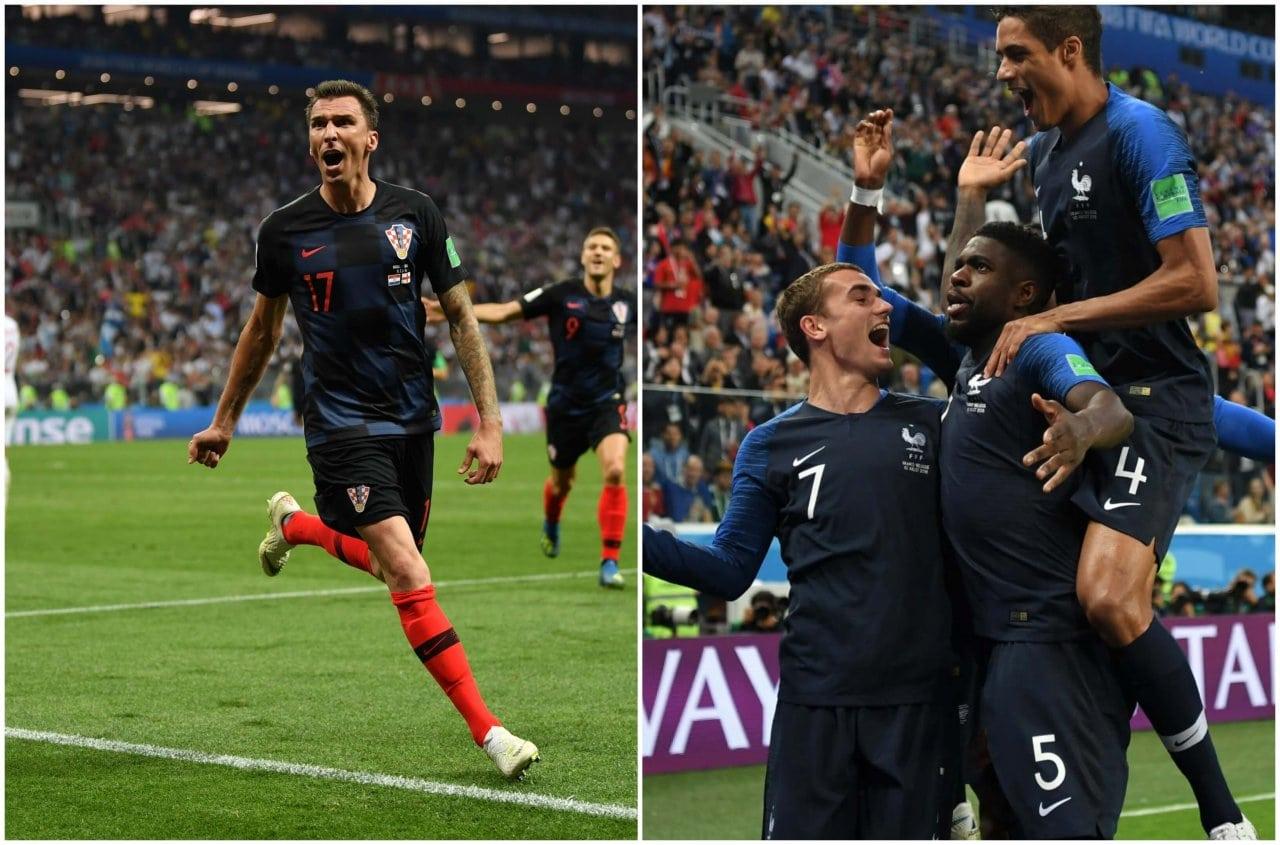 Francia y Croacia jugarán la gran final del Mundial de Rusia 2018