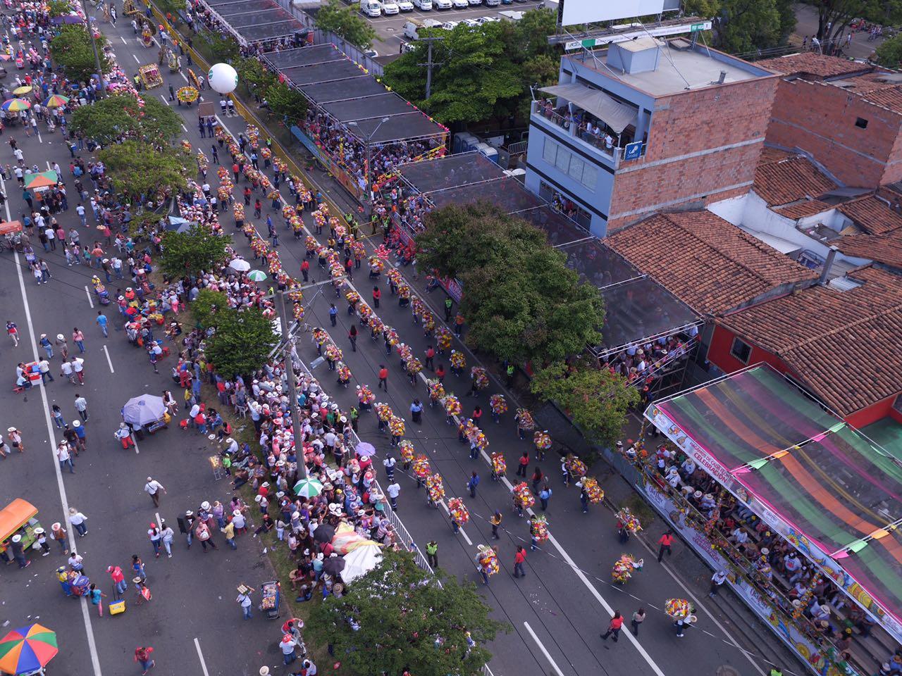 Este domingo 12 de agosto habrá cierres viales por el Desfile de Silleteros