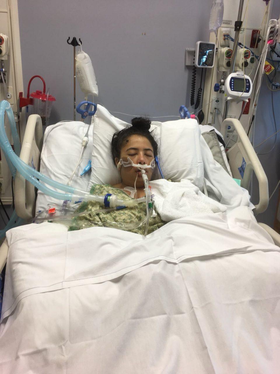 Buscan ayuda para mujer colombiana que tuvo accidente en Estados Unidos