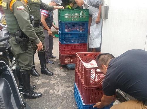 1.476 kilos de carne fueron decomisados en Envigado