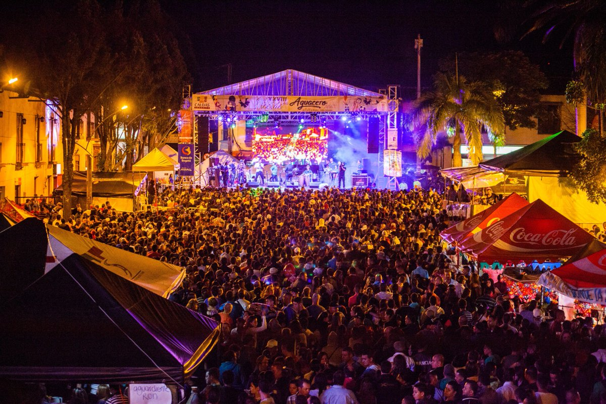 Las Fiestas del Aguacero se realizarán hasta el 14 de octubre