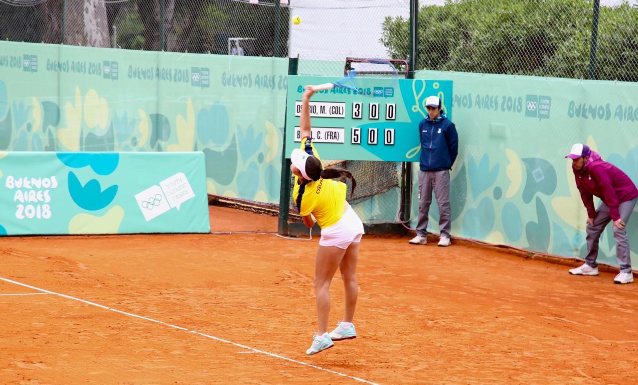 María Camila Osorio disputará bronce en el tenis de campo de los JJOO