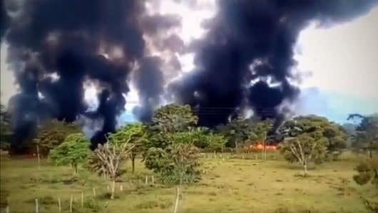 Nuevo atentado contra el oleoducto Caño Limón Coveñas en Boyacá