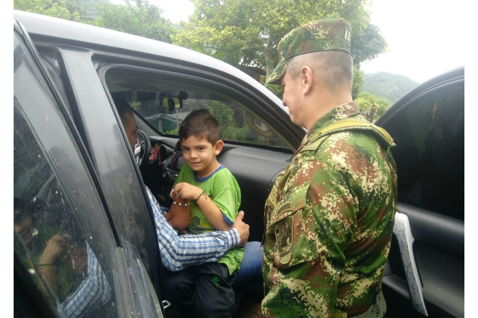 Capturan a seis presuntos secuestradores del hijo del alcalde de localidad colombiana