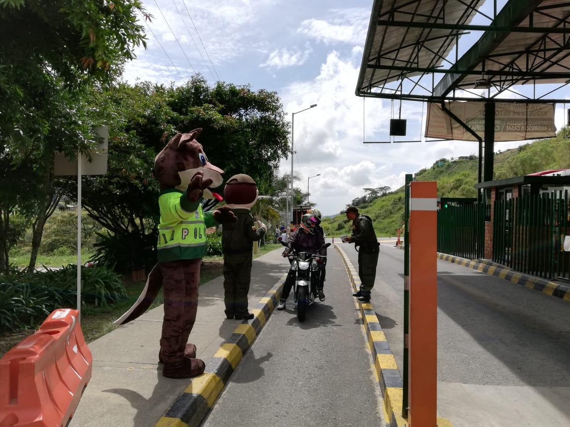 Durante la operación retorno se realizó en Antioquia la campaña Gimnasio Mental