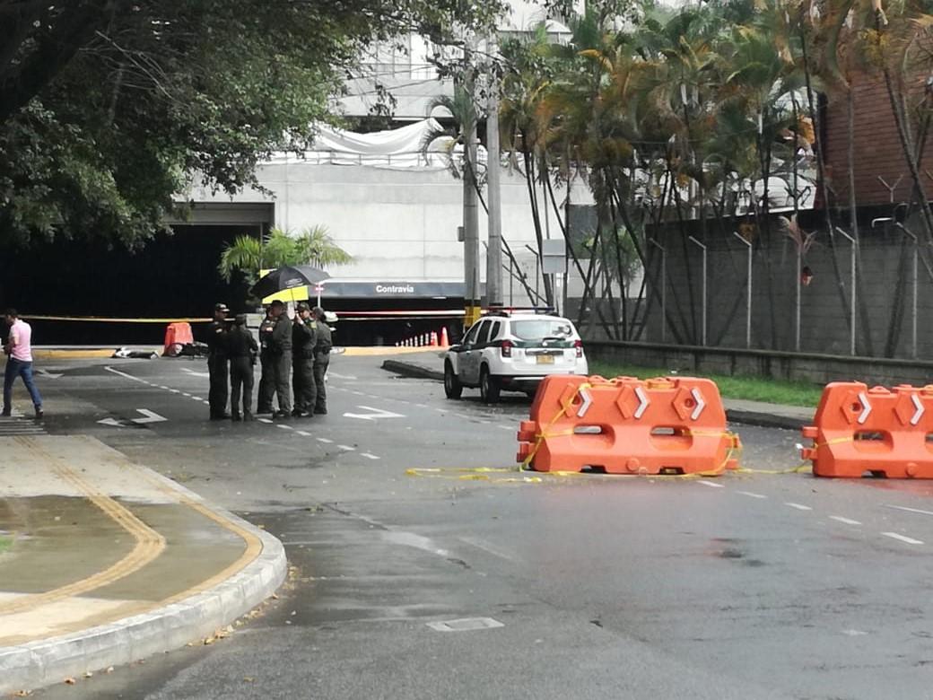 Investigan muerte de motociclista en el municipio de Envigado