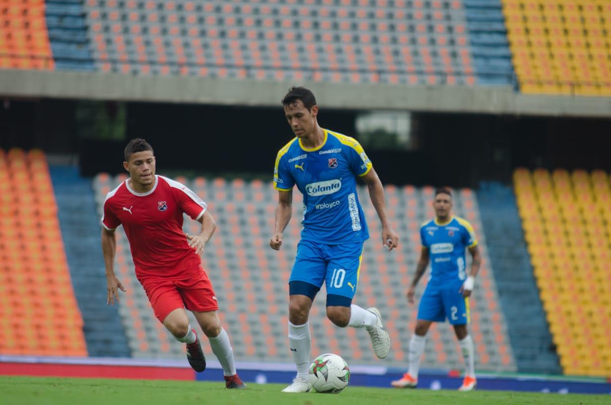 Independiente Medellín jugó amistoso frente a Rionegro Águilas