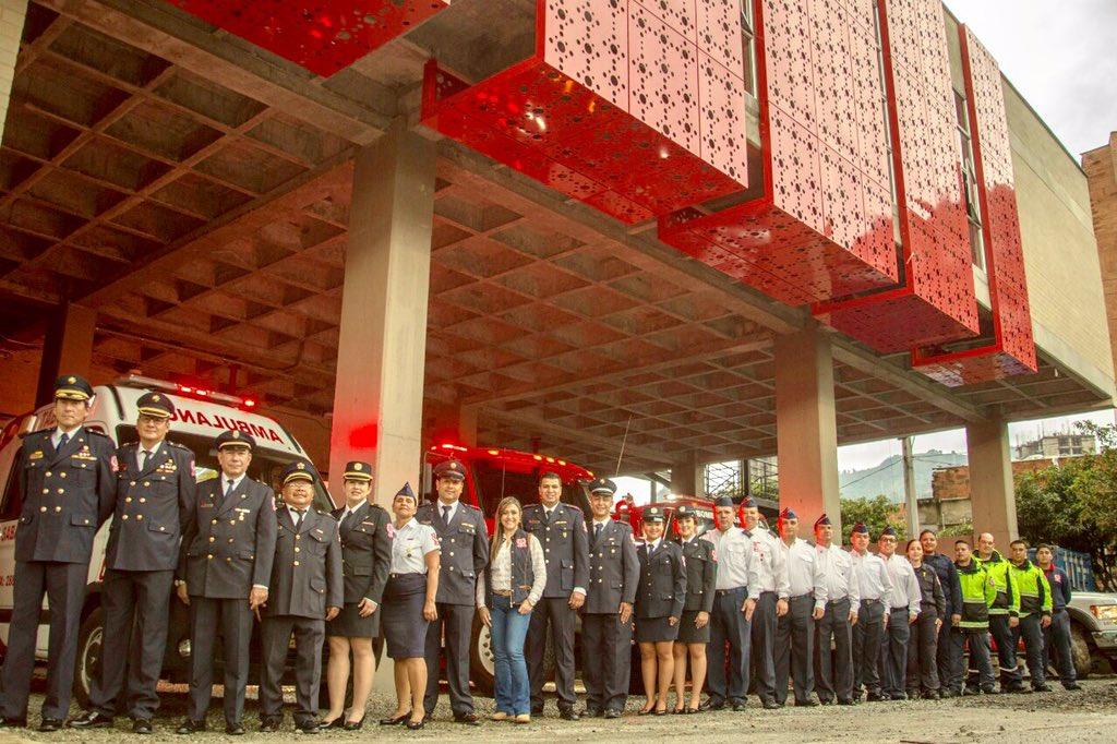 Fue inaugurada la nueva estación de bomberos de Sabaneta