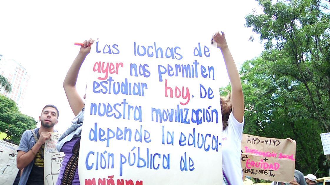 Este jueves habrá nuevamente manifestación de estudiantes en Medellín