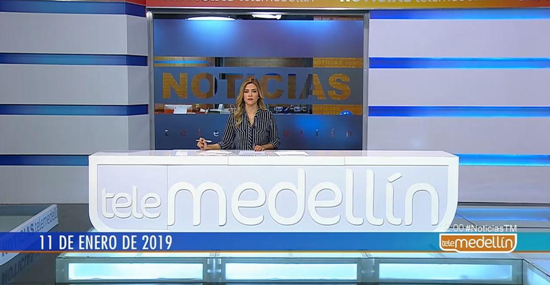 Noticias Telemedellín 11 de enero de 2019 emisión 12:00 m.