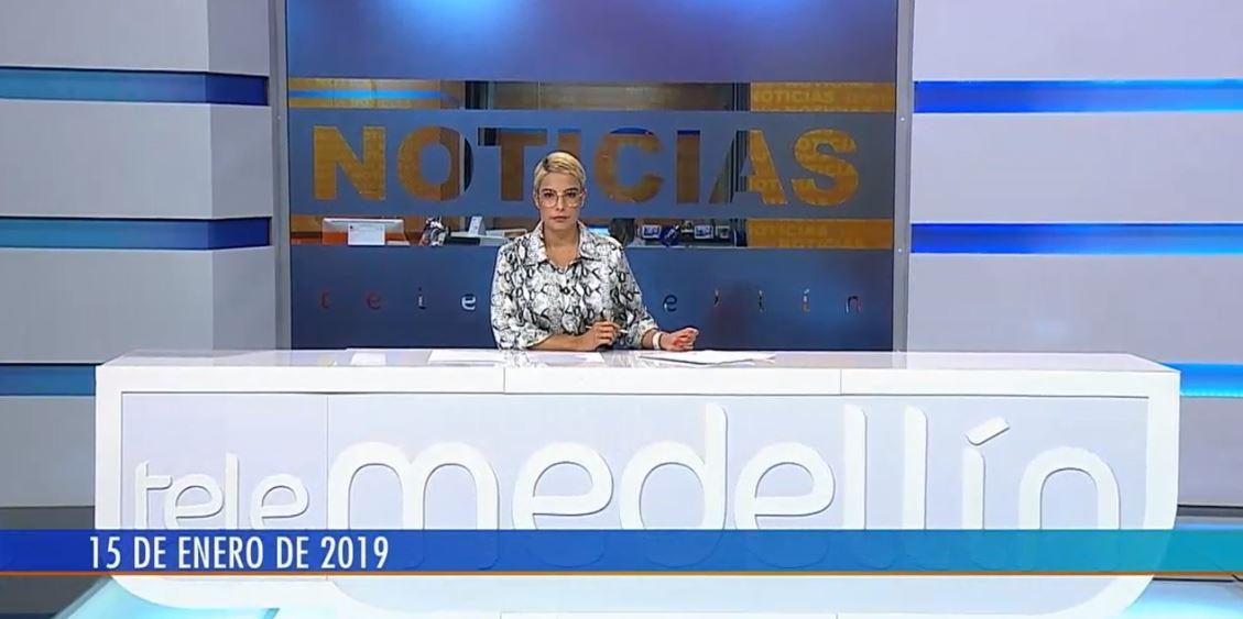 42a464b7f Noticias Telemedellín 15 de enero de 2019 emisión 7 30 p.m.