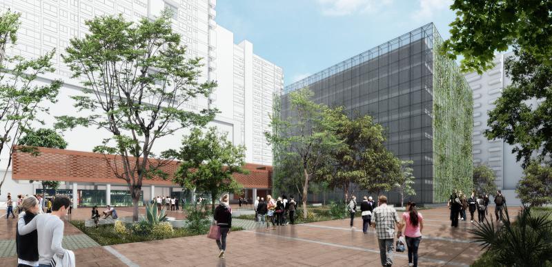 Avanza la construcción de la nueva sede de la Alcaldía de Sabaneta