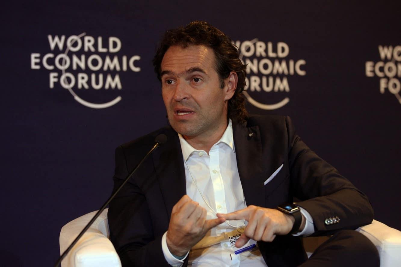 Alcalde de Medellín participa en el Foro Económico Mundial en Suiza