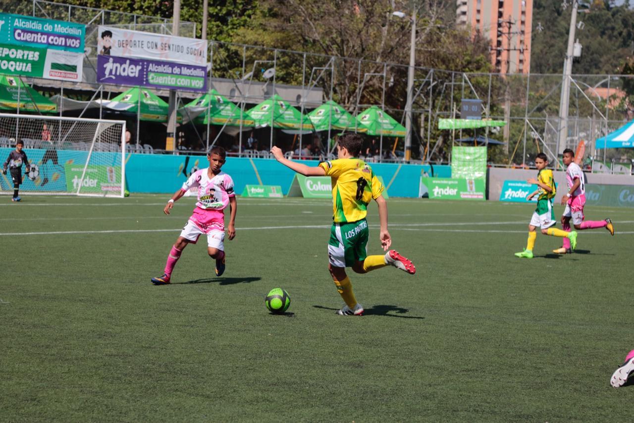 Goles anotados en la séptima jornada del Babyfútbol