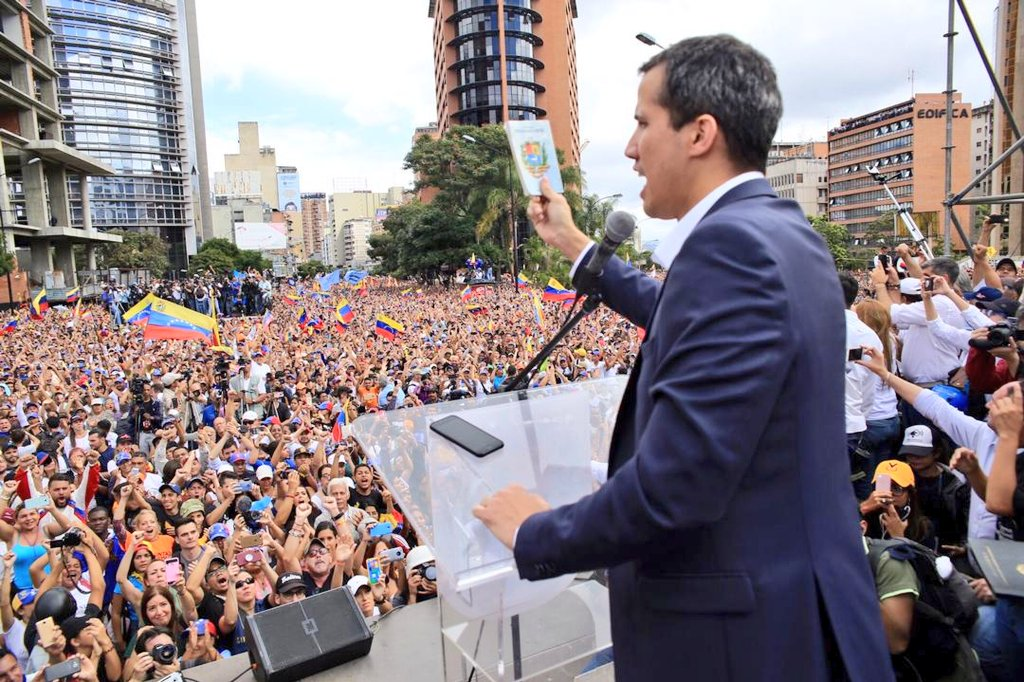 Comunidad internacional reconoció a Juan Guaidó como Presidente de Venezuela