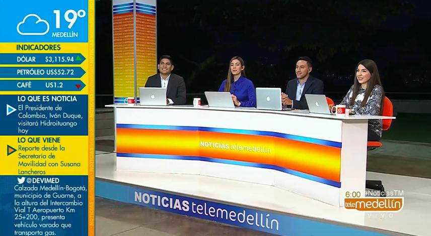 Noticias Telemedellín 11 de febrero de 2019 Emisión 6:00 a.m.