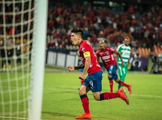Germán Cano quiere ser histórico, va por los 93 goles con el DIM