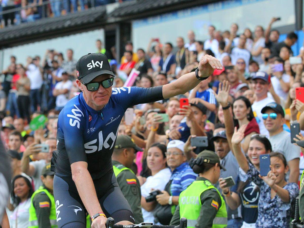 Con ciclistas de talla mundial fue presentado el Tour Colombia 2.1