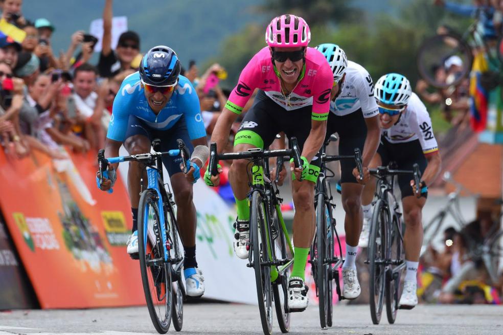 Segunda edición del Tour Colombia 2.1, después de la carrera Oro y Paz