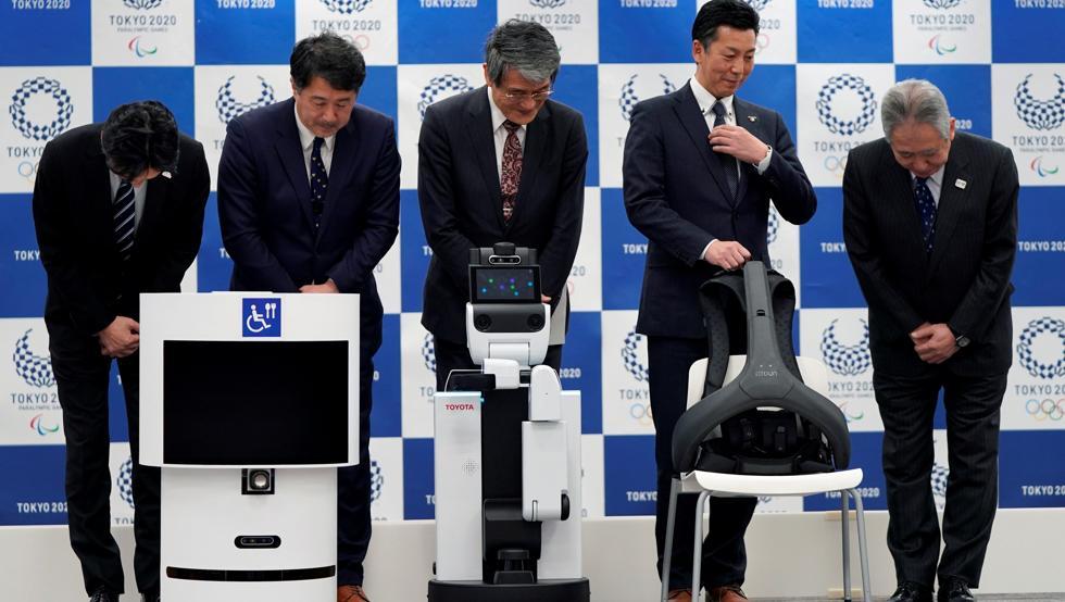 """Olímpicos de Tokio 2020 tendrá robots """"asistentes"""" para las personas"""