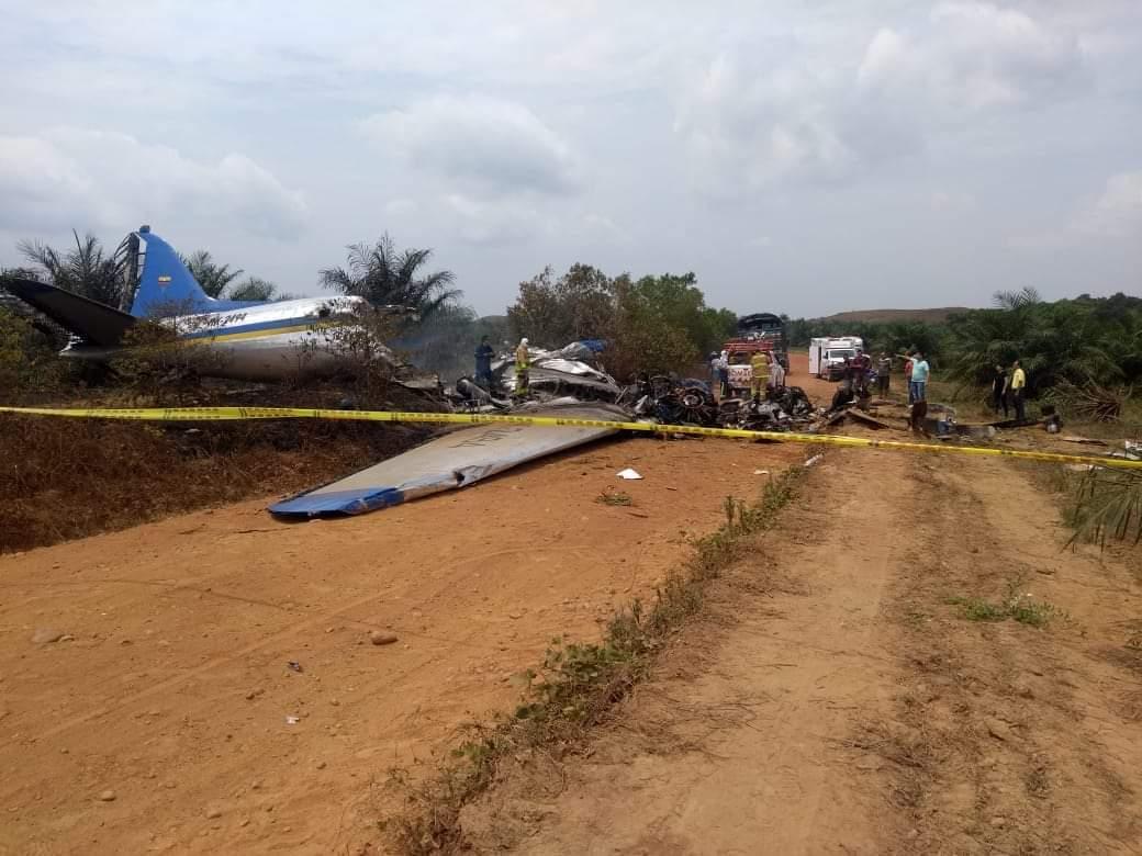 Accidente de avión en Villavicencio dejó 12 personas muertas