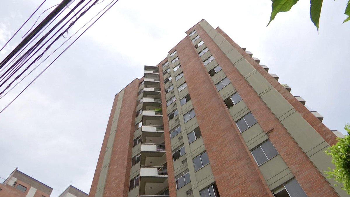 Kampala, otro edificio de Medellín con fallas estructurales