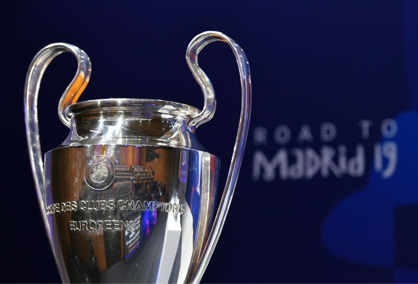 Definidas las llaves de cuartos de final de la Champions League