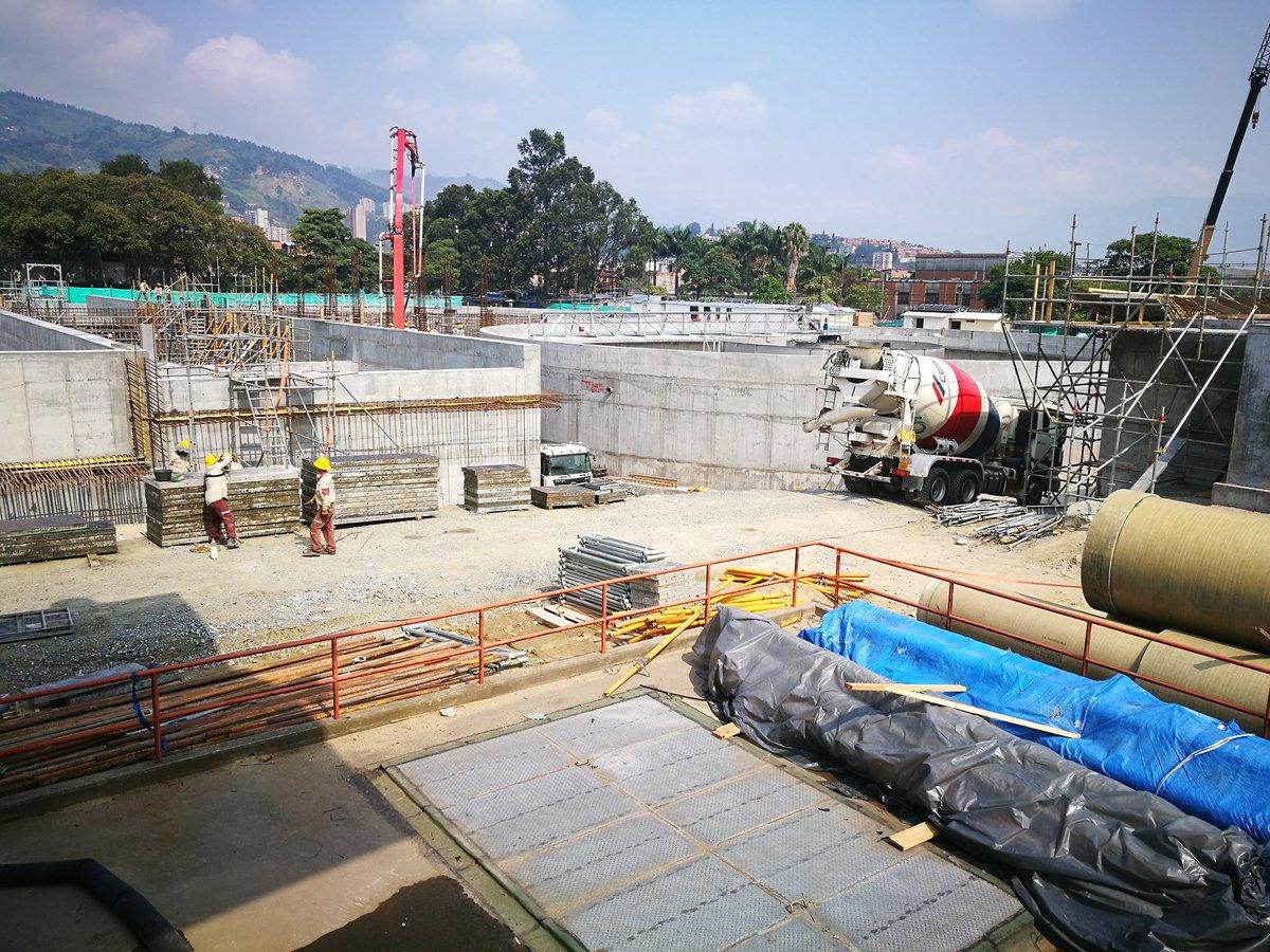 EPM avanza en la ampliación de la planta San Fernando