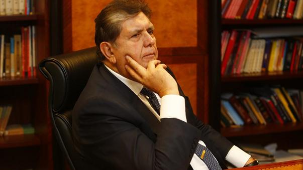 Expresidente de Perú Alan García habría intentado suicidarse al ser capturado
