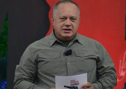 Diosdado Cabello llama al pueblo venezolano al Palacio de Miraflores a defender la revolución